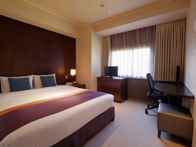 ホテルメトロポリタン エドモント / 本館ダブル【禁煙・20㎡】160cm幅ベッド