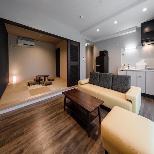 Ahman Inn Island Yagaji / Ahman Standard ■79平米・和洋室■