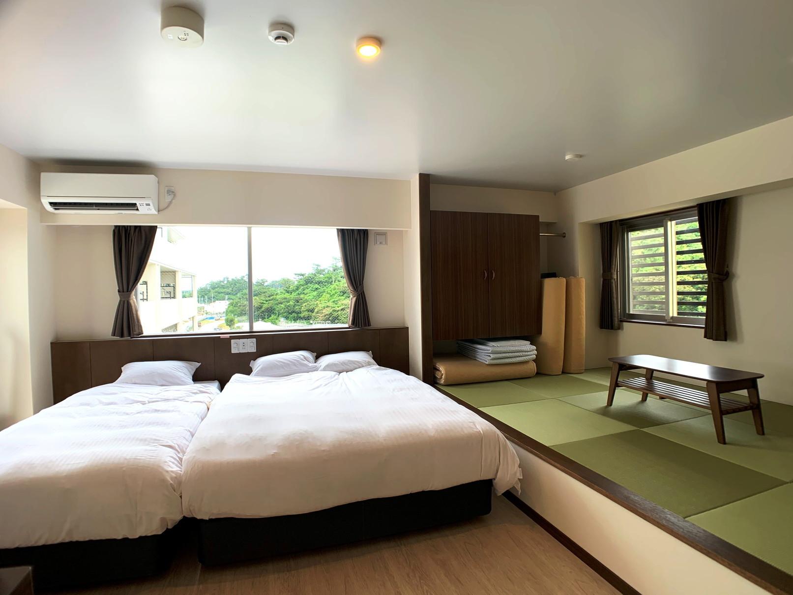 Aqua Resort in Chatan / 【さき楽14】早めの予約が断然お得!《素泊り》 ★キッチン・家電付き★