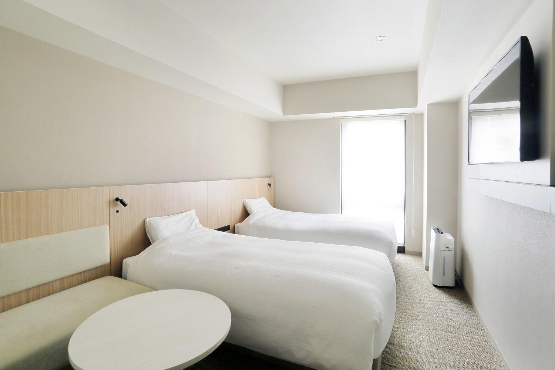 JRイン札幌駅南口 ツイン◆喫煙◆110cm幅ベッド2台★シャワーブースのみ