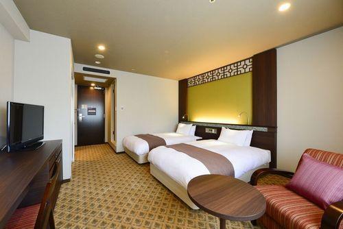 JR九州ホテル長崎 / 【禁煙】ツイン 21平米 ベッド幅120cm