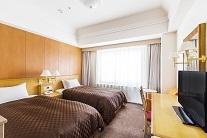 ホテル日航ノースランド帯広 ◇禁煙◇ツインルーム(120cm幅ベッド/22平米/5~9階)