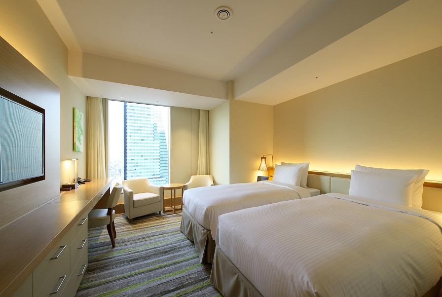 名古屋JRゲートタワーホテル / デラックスコーナーツイン 37.0㎡ 【禁煙】
