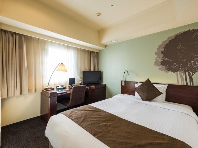 ホテル京阪 札幌 【禁煙】☆シングル(15㎡)~ベッド幅140センチでゆったり旅~