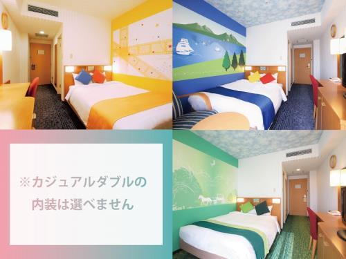 ホテル京阪 ユニバーサル・シティ / 【禁煙】カジュアルダブル(18㎡・2名1室)