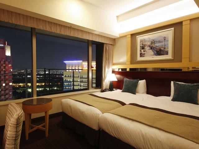 ホテル京阪 ユニバーサル・タワー / ●【高層階タワーグランデ】カジュアルツイン(禁煙21平米)