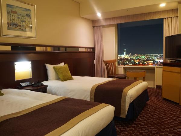 ホテル京阪 ユニバーサル・タワー / ●【高層階タワーグランデ】スタンダードツイン(禁煙25平米)