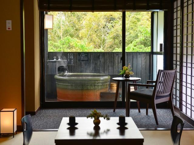 霧島観光ホテル / 【 源泉かけ流し  】 露天風呂付きモダン和室 -8畳-