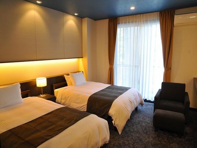 霧島観光ホテル / 【上質な空間】優しいこだわりMODERNのツインルーム -22平米-