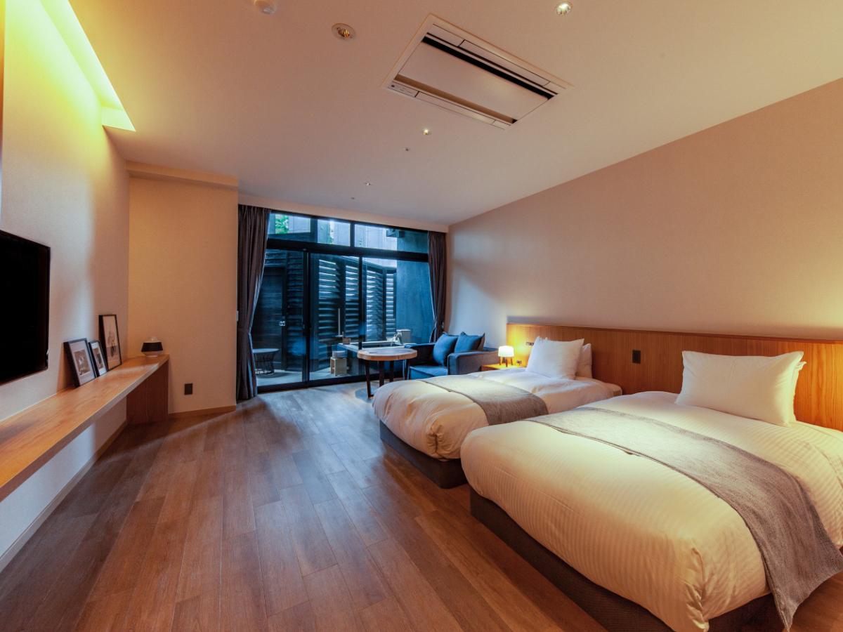 霧島観光ホテル 【SANAブランド】2名利用にオススメ/50平米セミダブルツインルーム