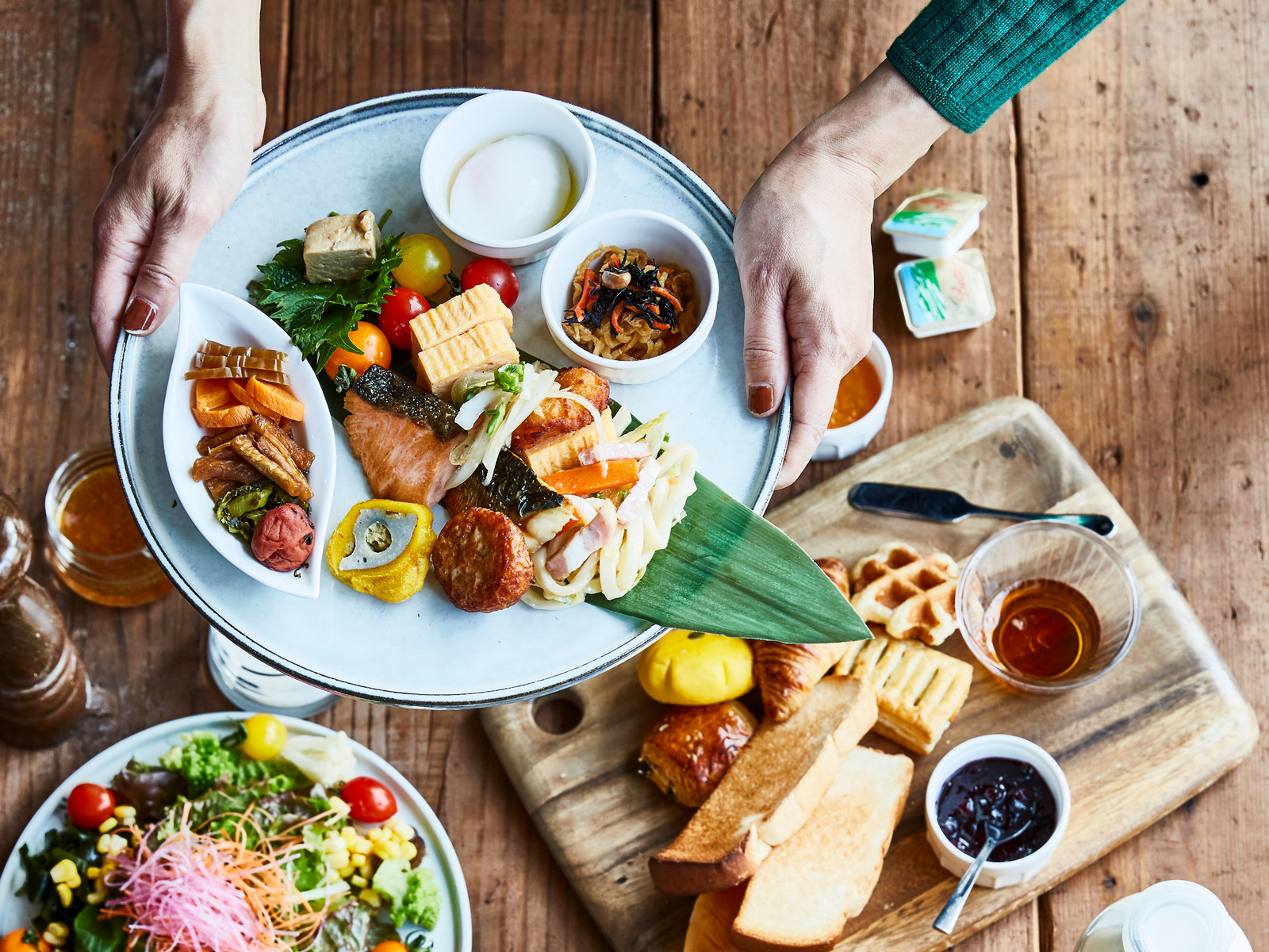 ザ ニューホテル熊本 / 【ファミリーサマービュッフェ】作って楽しい!食べて美味しい体験型ビュッフェ(2食付)
