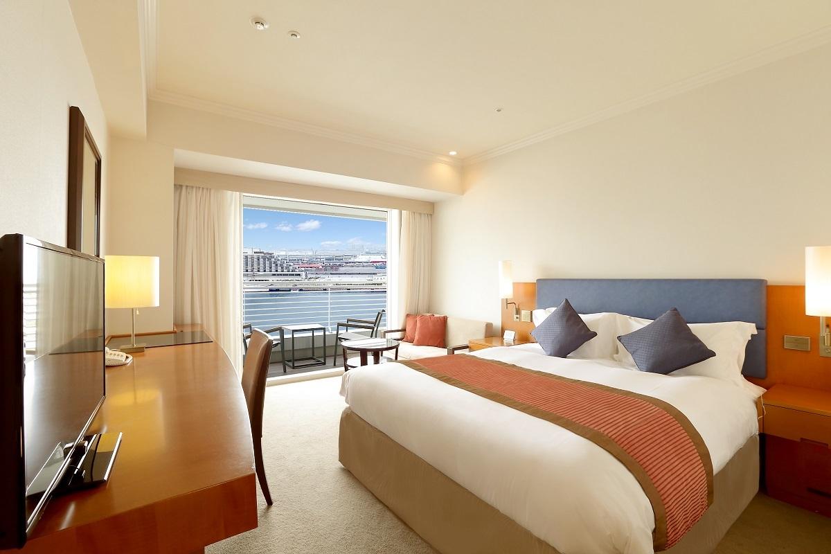 神戸メリケンパークオリエンタルホテル スタンダードダブル イーストビュー