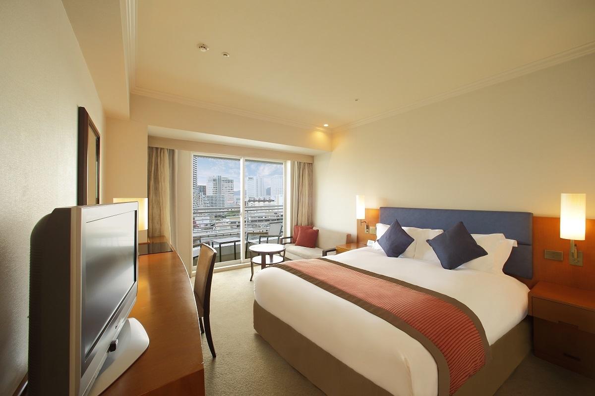 神戸メリケンパークオリエンタルホテル スタンダードダブル ウエストビュー