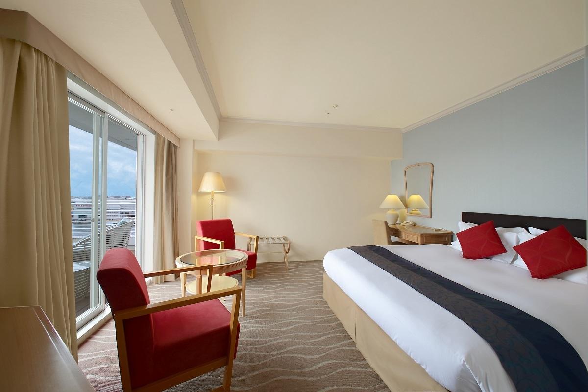 神戸メリケンパークオリエンタルホテル スタンダードキング サウスビュー