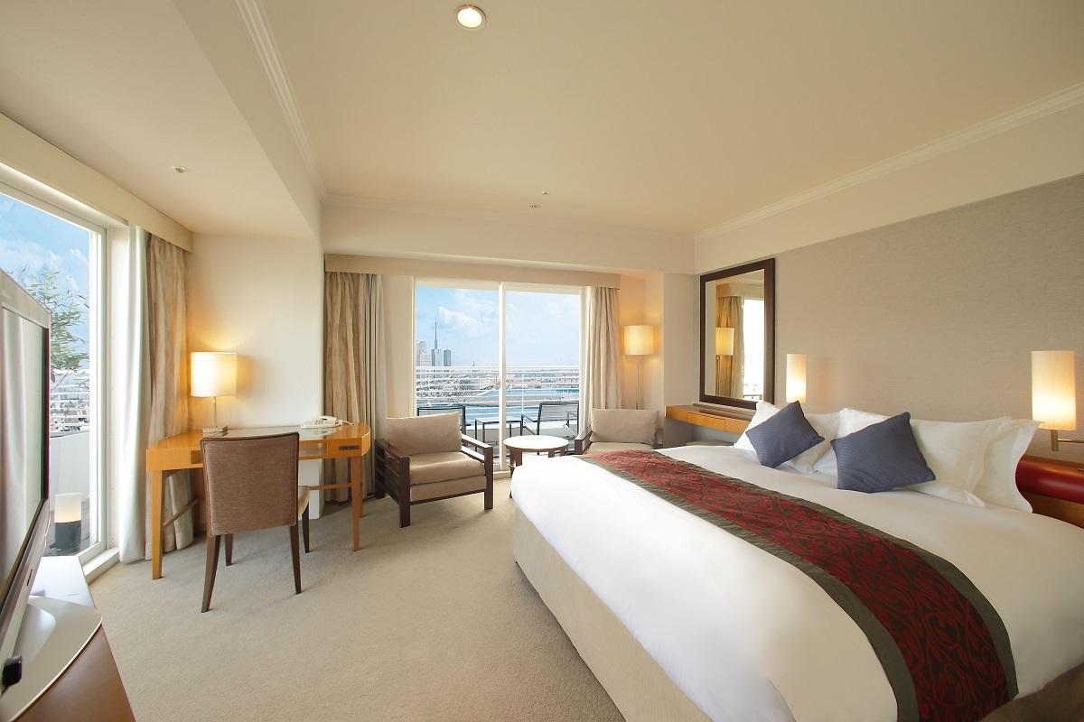 神戸メリケンパークオリエンタルホテル スタンダードキング ノースビュー