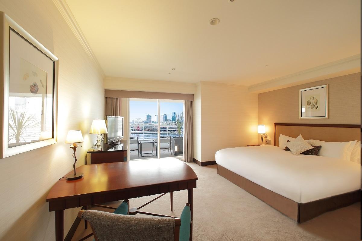 神戸メリケンパークオリエンタルホテル スタンダードキング ウエストビュー