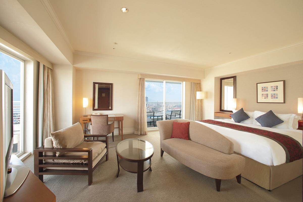 神戸メリケンパークオリエンタルホテル / スーペリアキング ノースビュー