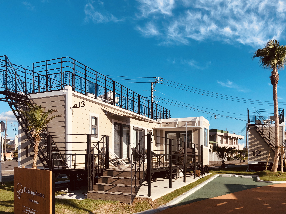 吹上浜フィールドホテル(Fukiagehama Field Hotel) / 【ペットフレンドリー】トレーラーハウス(64~93平米)