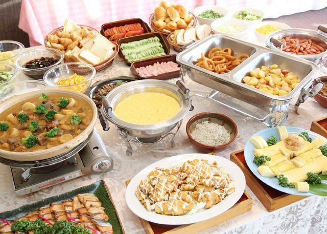 かごしま空港ホテル お勧め!奄美鶏飯♪鹿児島の郷土料理が愉しめる約30種類の朝食付バイキングプラン♪