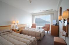 鹿児島サンロイヤルホテル ツイン2~3名(禁煙)