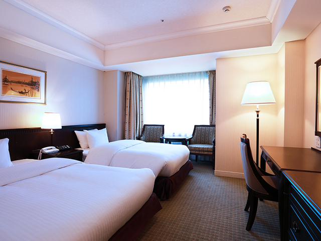 SHIROYAMA HOTEL kagoshima(城山ホテル鹿児島) / [禁煙] スタンダードツイン 眺望なし 【25㎡】