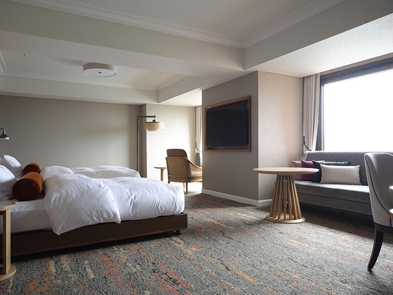 SHIROYAMA HOTEL kagoshima(城山ホテル鹿児島) / [禁煙] ユニバーサルルーム 桜島ビュー 【58平米】