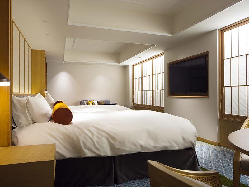 SHIROYAMA HOTEL kagoshima(城山ホテル鹿児島) / [禁煙] ジャパニーズモダンツイン 眺望なし 【45平米】