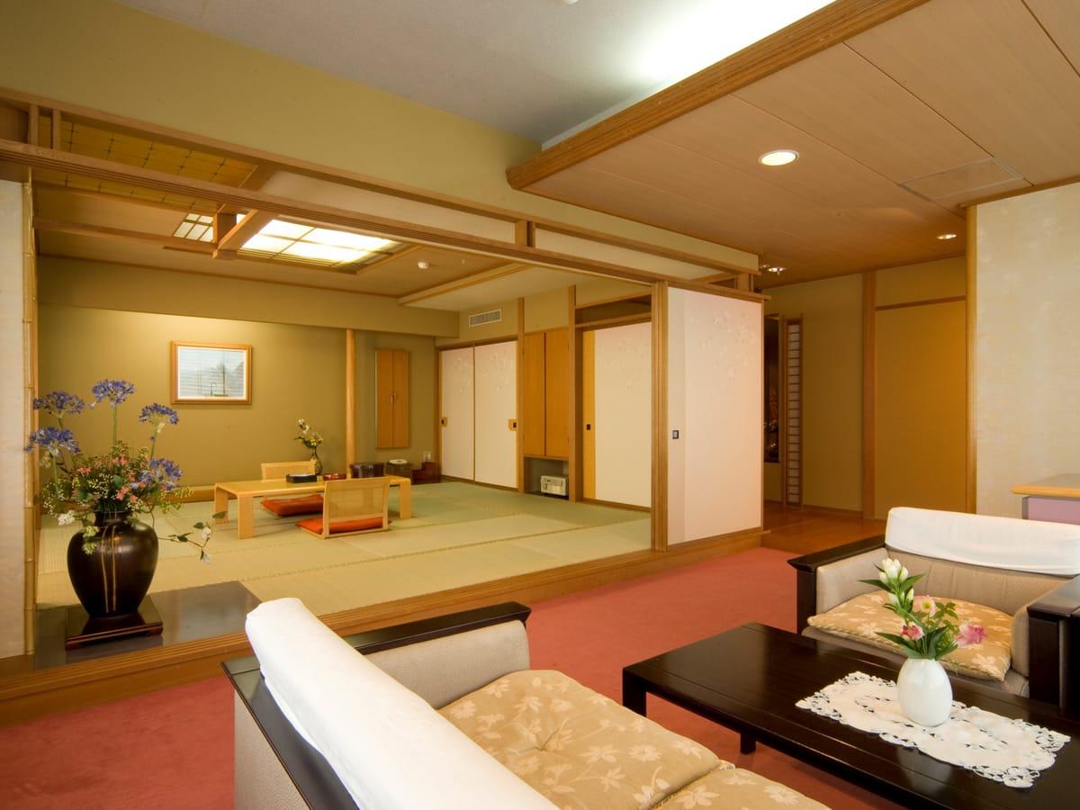 駒ヶ岳グランドホテル / 【禁煙】特別室 和室2間