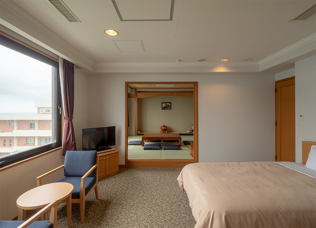 シーサイドホテル屋久島 / 和洋室(オーシャンビュー)