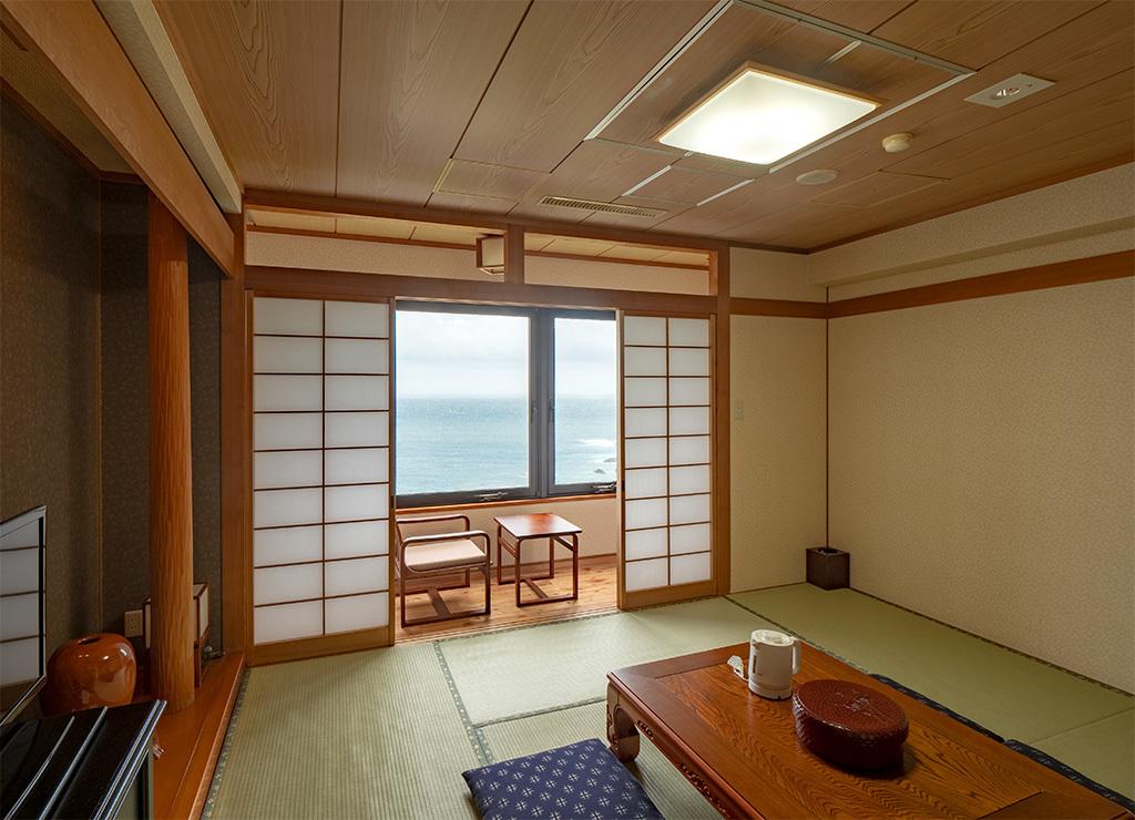 シーサイドホテル屋久島 / 新館和室8畳(眺望おまかせ)