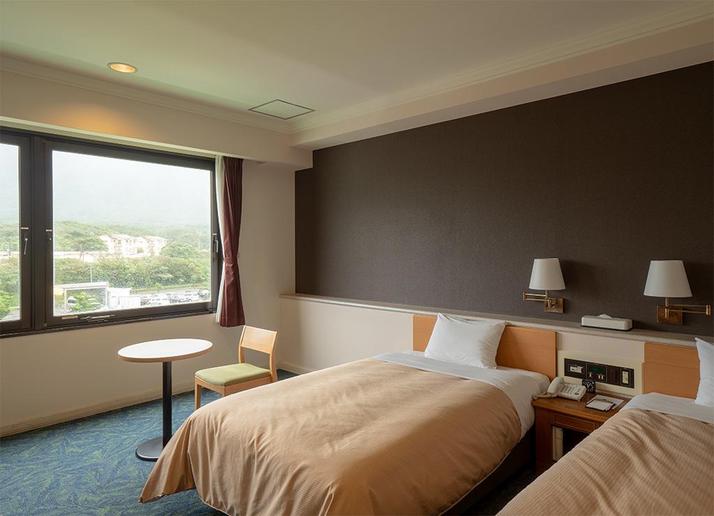 シーサイドホテル屋久島 / 新館洋室ツイン(眺望おまかせ)