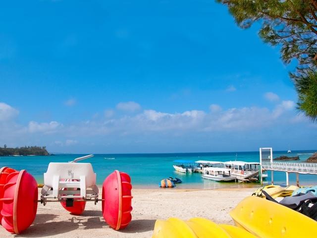 KARIYUSHI LCH. RESORT on The Beach / かりゆしビーチを愉しむ、リゾートを手軽にシンプルステイ!!/軽朝食付き アメニティ付き
