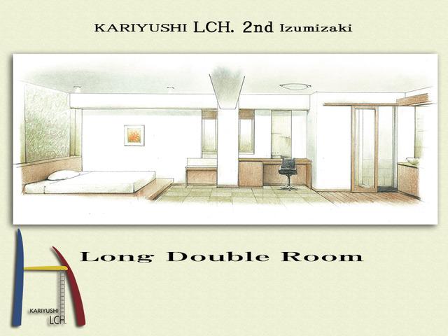Kariyushi LCH. Izumizaki 県庁前 / ロングタイプダブル LCH. 2nd