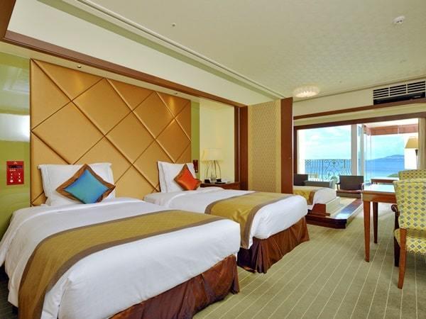 Okinawa Spa Resort EXES / プレミアツイン【3-5F・禁煙】