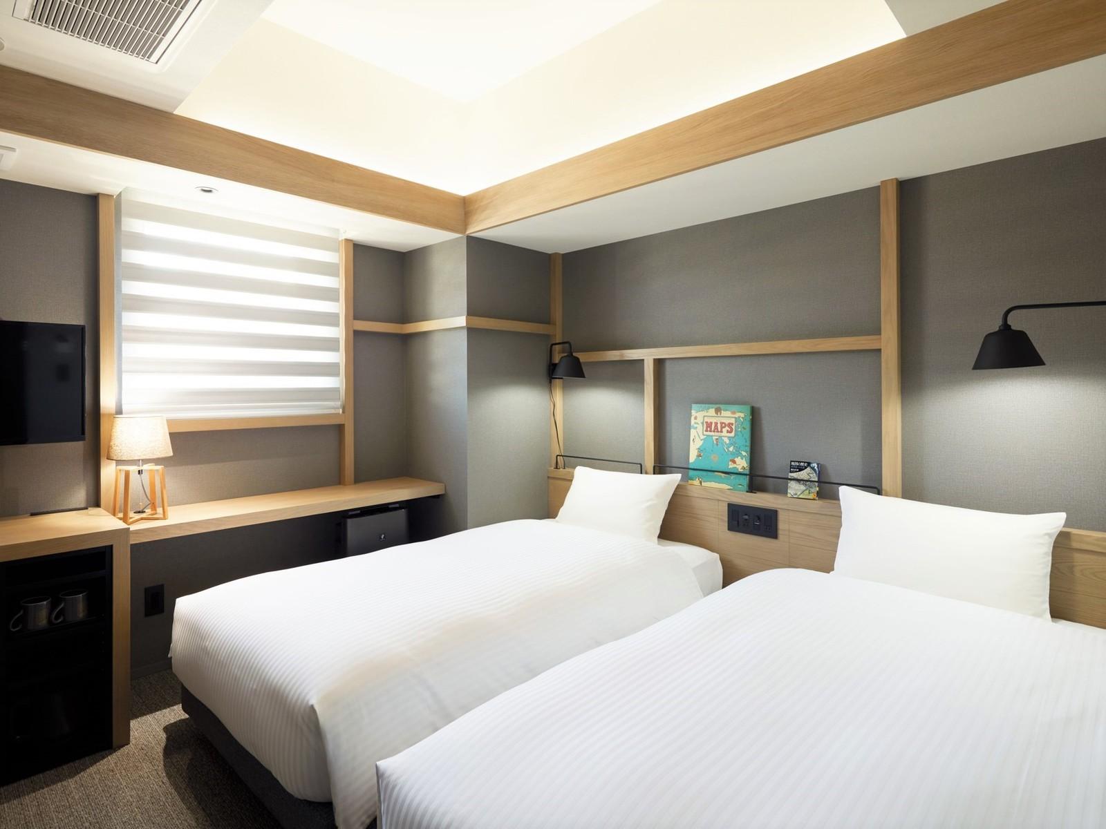 ランプライトブックスホテル札幌 / スタンダードツイン【禁煙】