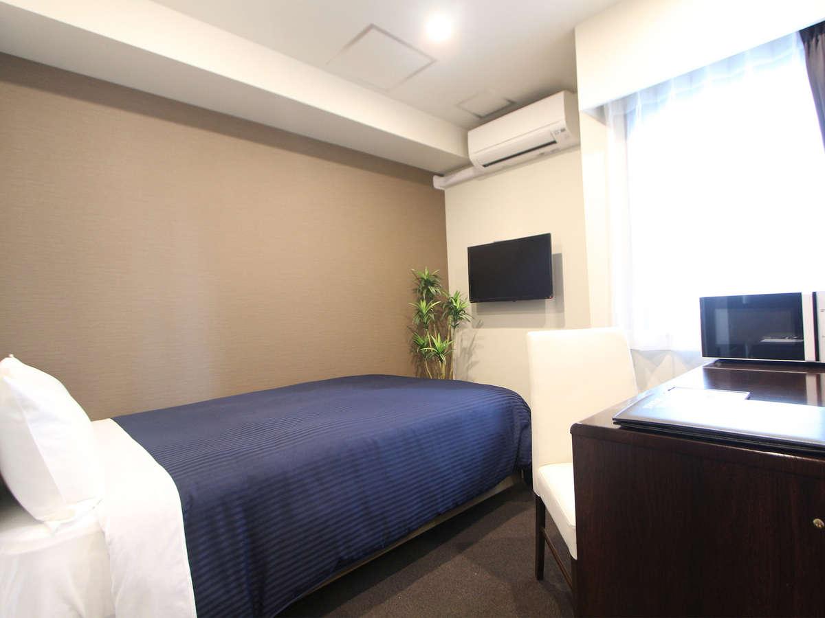 ホテルリブマックス東銀座 シングルルーム☆禁煙☆ベッド幅120×200cm