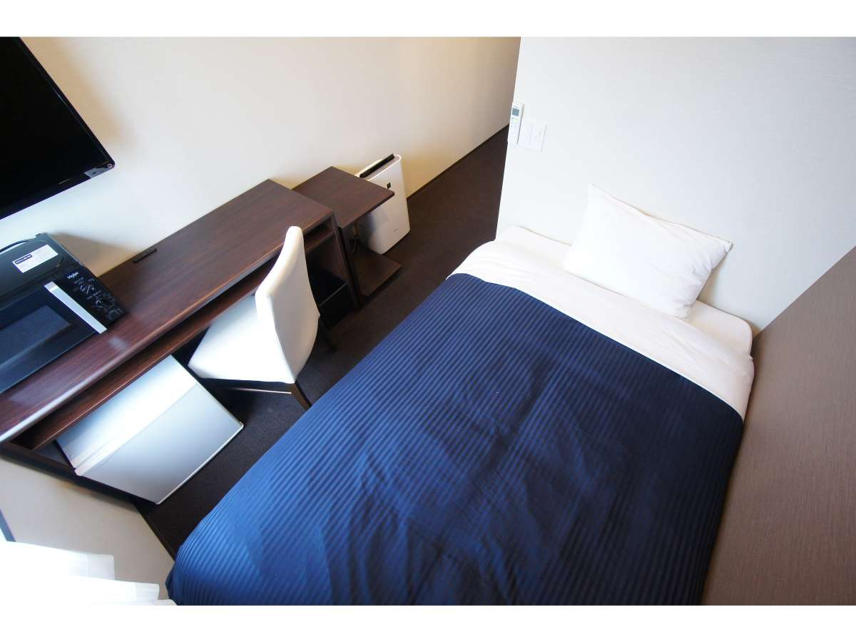 ホテルリブマックス横浜元町駅前 シングルルーム【喫煙】【ベッド幅120×195】