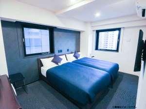ホテルリブマックス日本橋小網町 /  ◆喫煙◆ツインルーム◆セミダブルベッド(×2台)◆