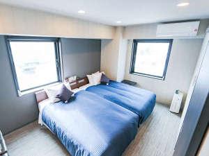 ホテルリブマックス札幌すすきの /  ◆ツインルーム◆喫煙◆セミダブルベッド