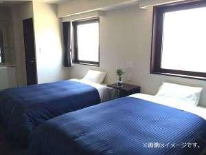 ホテルリブマックス仙台青葉通 /  ◆ツインルーム◆喫煙◆セミダブルベッド