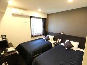 ホテルリブマックス新宿EAST / ◆ツインルーム◆喫煙◆セミダブルベッド