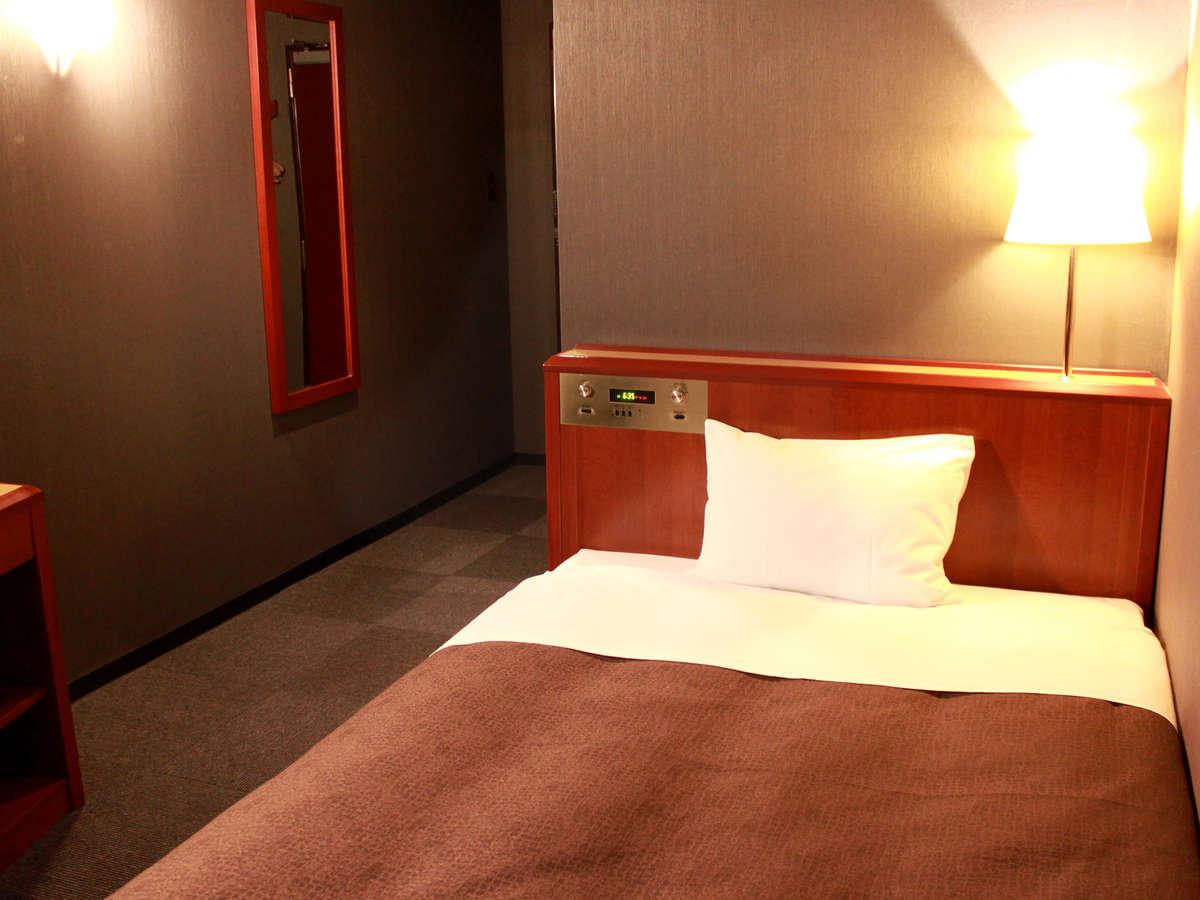 ホテルリブマックス横浜鶴見 / シングルB【ベッド幅125×195】禁煙室◇NET接続可◇