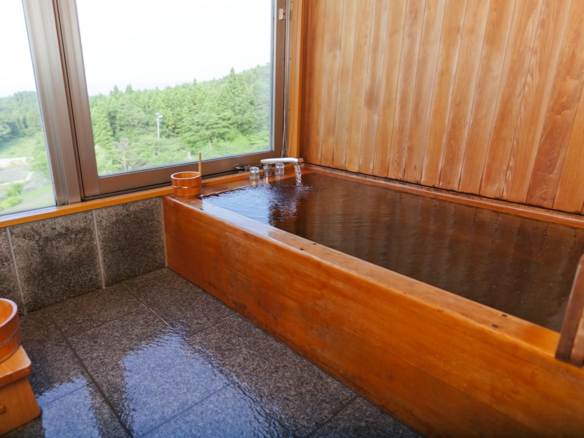まかど観光ホテル / 【和室】特別和室ヒバの客室風呂付き■禁煙■