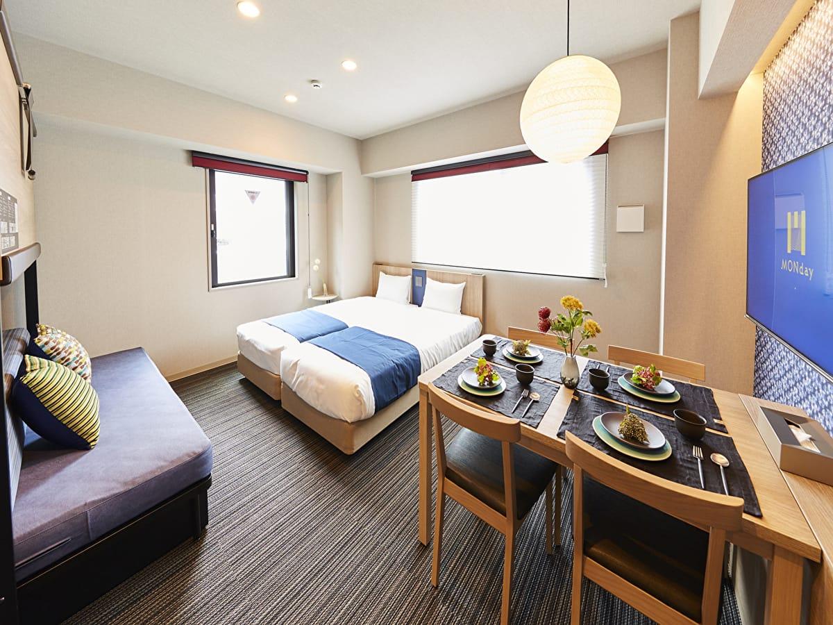 hotel MONday 東京西葛西 Annex 【早割30】早めの予約が絶対お得!一足先にお得なプランをゲット♪全室キッチン付★