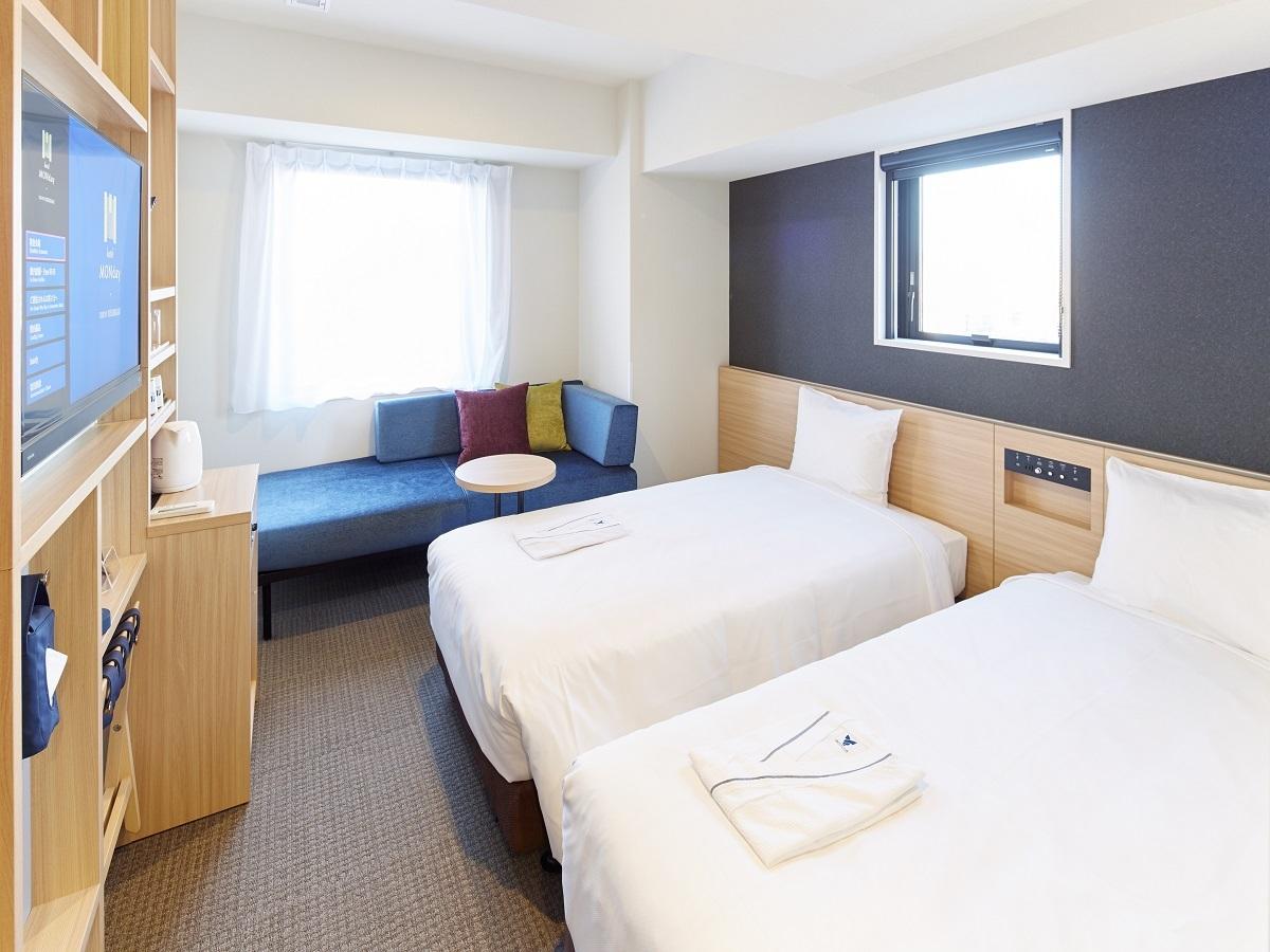 hotel MONday 東京西葛西 スタンダードツイン