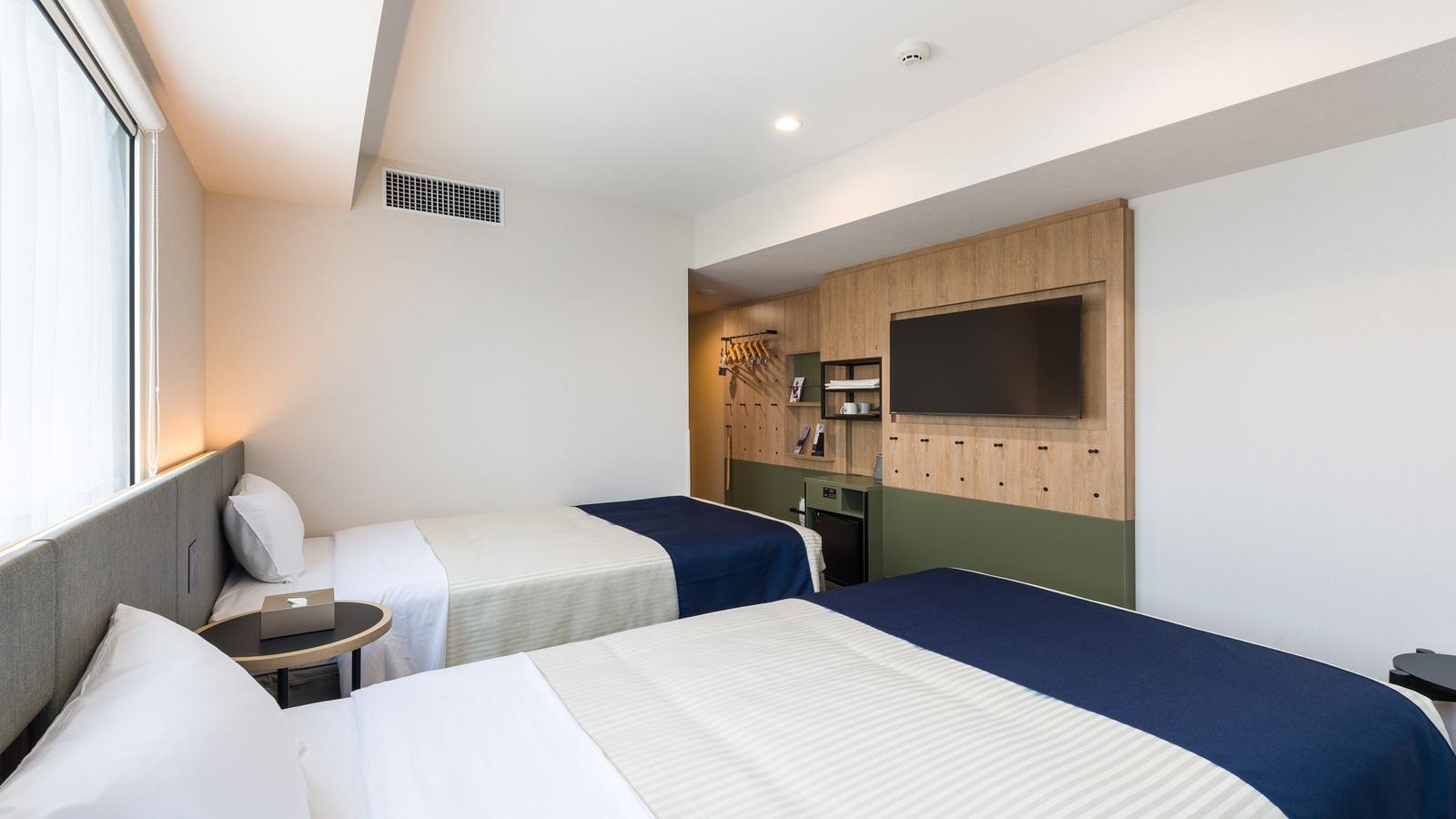 hotel MONday 秋葉原浅草橋 デラックスツイン(エキストラベッド付)