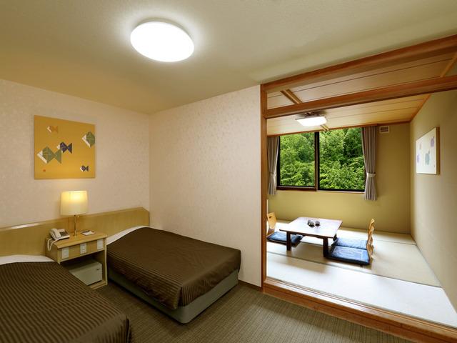 名湯の宿 パークホテル 雅亭 / 和洋室