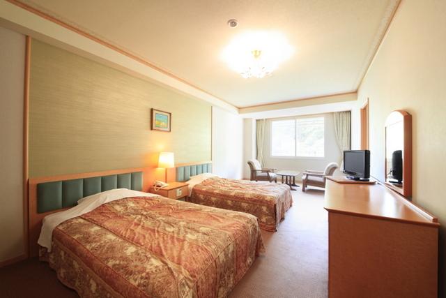 名湯の宿 パークホテル 雅亭 / デラックス洋室