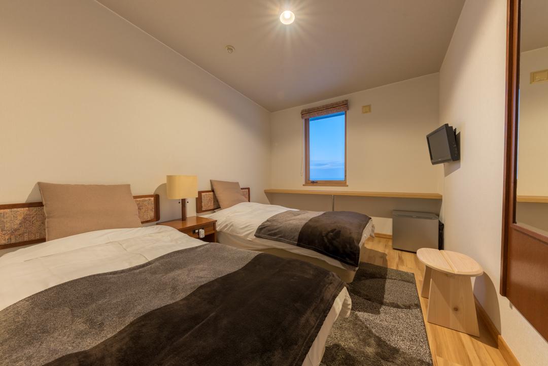 ホテル季風クラブ知床 / オーシャンビュー洋室ツインルーム6帖 禁煙