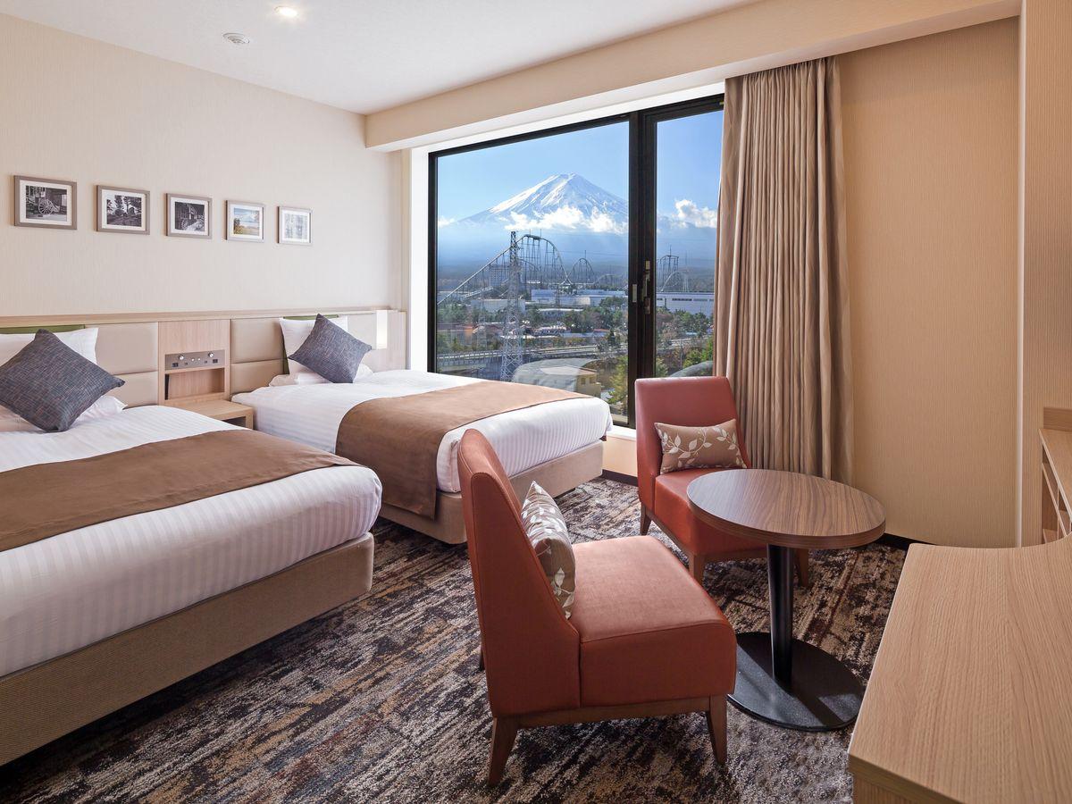 ホテルマイステイズ富士山 展望温泉 / 【禁煙】スタンダードツイン 富士山ビュー(1階)